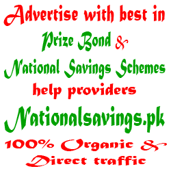 Advertise With NationalSavings.pk